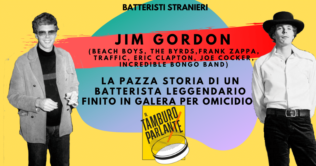 jim gordon batterista