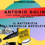 Antonio Golino, il batterista dell'orgoglio napoletano