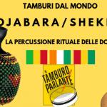 Djabara/shekere, la percussione rituale delle donne