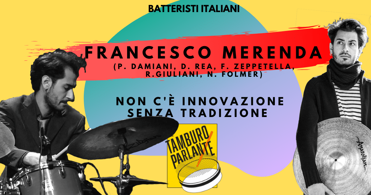 francesco merenda batterista