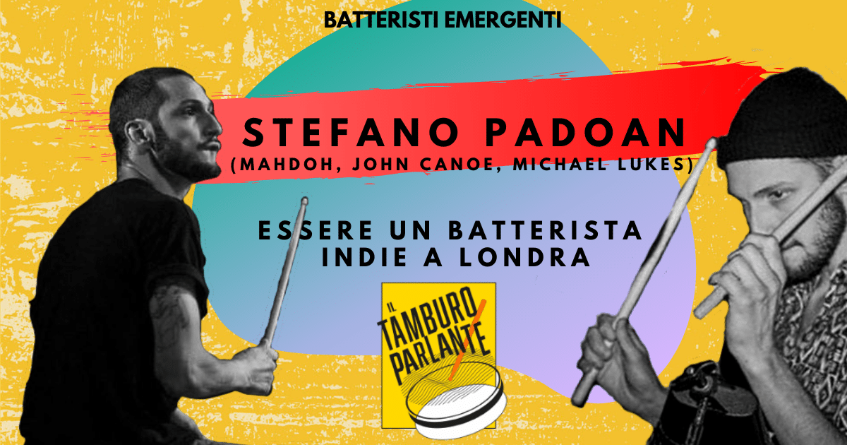 Stefano_Padoan_batterista_John_Canoe