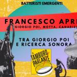 Francesco Aprili, tra Giorgio Poi e ricerca sonora