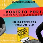 Roberto Porta, un batterista fusion 2.0
