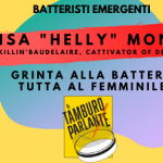 "Elisa ""Helly"" Montin, grinta alla batteria tutta al femminile"