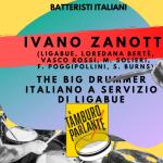 Ivano Zanotti, The big drummer italiano a servizio di Ligabue