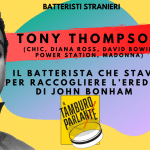 Tony Thompson, il batterista che stava per raccogliere l'eredità di John Bonham