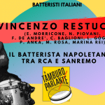 Vincenzo Restuccia, il batterista napoletano tra RCA e Sanremo
